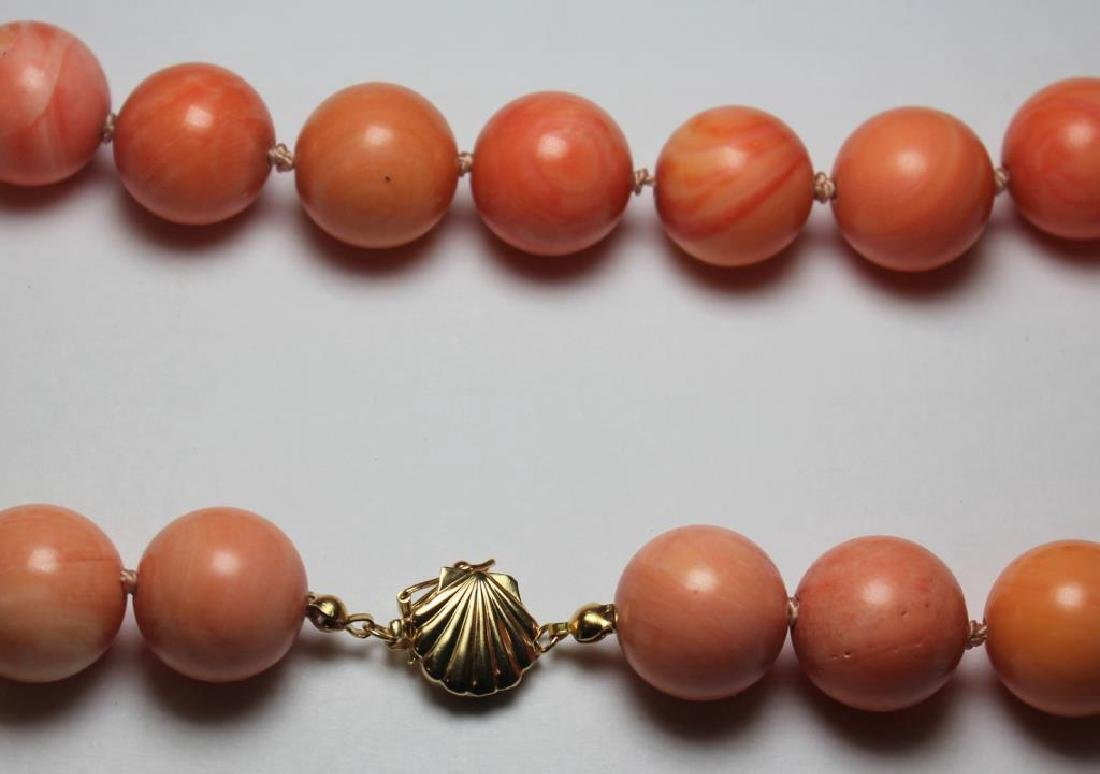 JEWELRY. Assorted Coral Jewelry Grouping. - 7