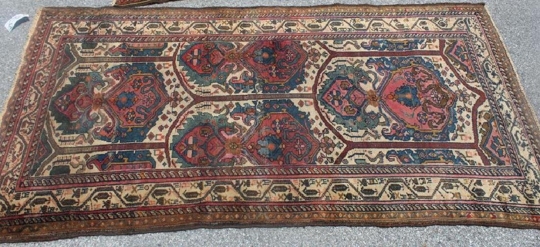 2 Antique and Finely Woven Area Rugs. - 2