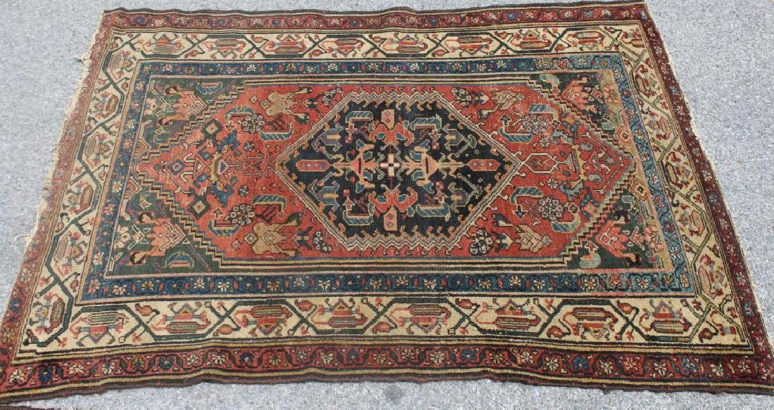 2 Antique and Finely Woven Area Rugs. - 3