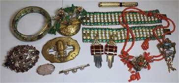 JEWELRY Grouping of Assorted Antique and Vintage
