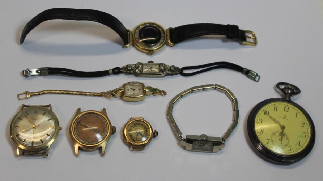 JEWELRY. Men's and Ladies Watch Grouping.