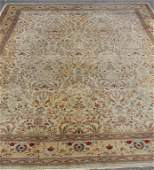 Vintage Finely Woven Carpet with all over Animal