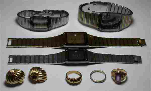 JEWELRY. Assorted Jewelry and Watch Grouping.