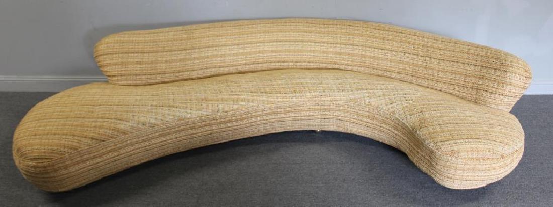 Early Vladimir Kagan Serpentine Sofa.