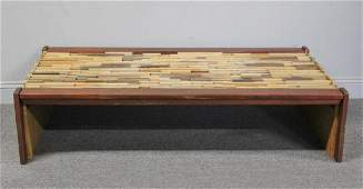Midcentury Percival Lafer Rosewood Coffee Table.