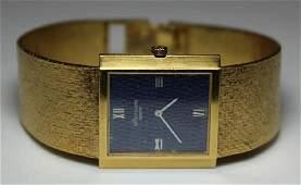 JEWELRY Mens 18kt Gold Patek Philippe Watch