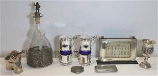 SILVER Assorted Grouping of Silver Items
