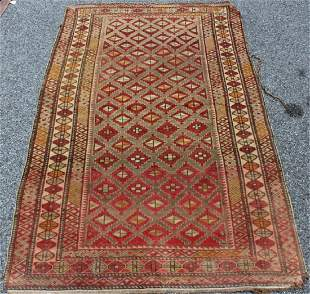 Antique Handmade Area Carpet