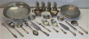 STERLING Assorted Grouping of Hollow Ware and