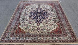 Large and Finely Woven Vintage Handmade Carpet
