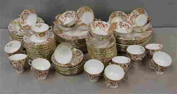 Royal Crown Derby Porcelain Set .