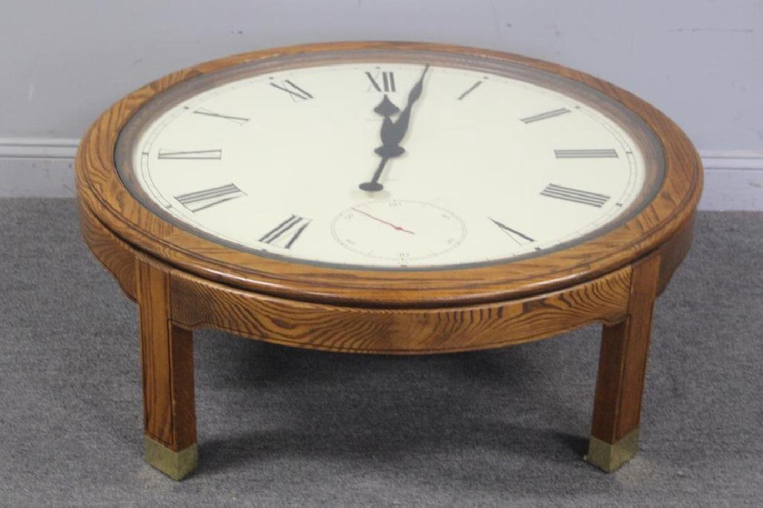 Howard Miller Coffee Table Clock