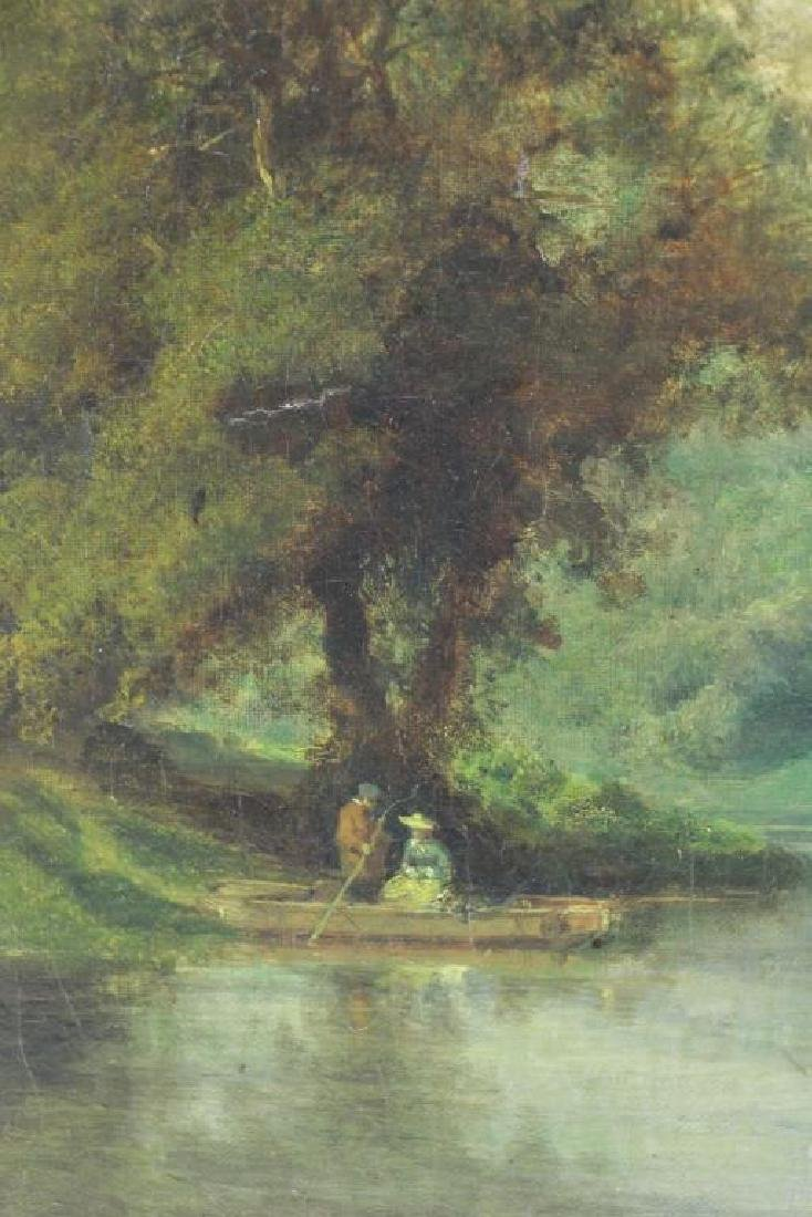 After George Inness. Oil on Canvas. River - 3