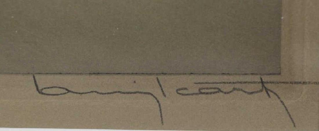 """ICART, Louis. Drypoint Etching. """"Zest"""" (L' Elan) - 5"""