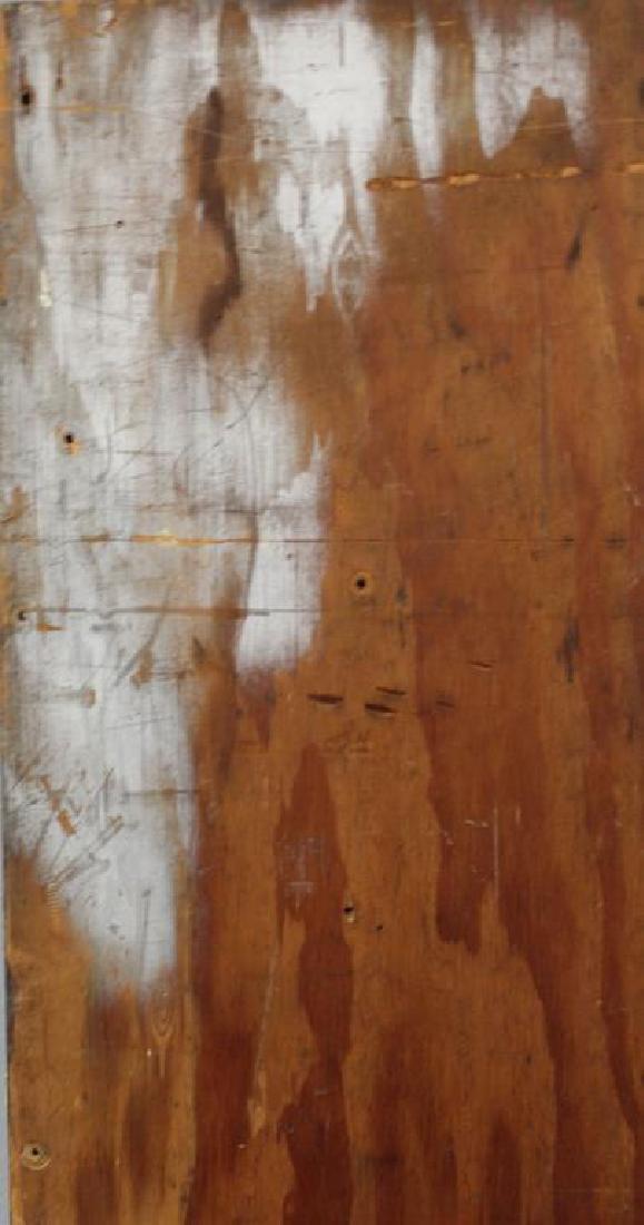 LAMOTTE, Bernard. Oil on Plywood. Harbor Scene. - 8