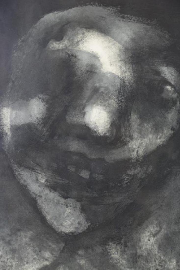 CORONEL, Rafael. Ink on Paper. Figure, 1958. - 2