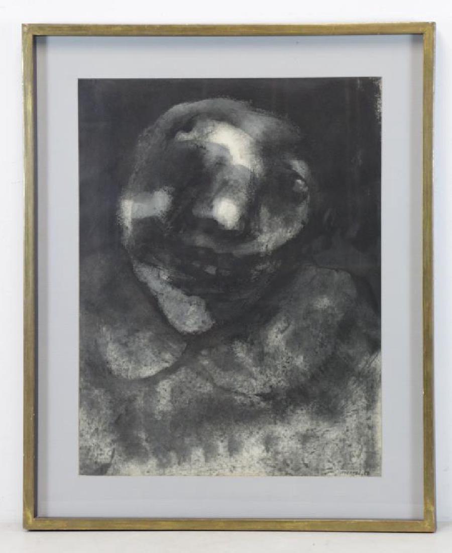 CORONEL, Rafael. Ink on Paper. Figure, 1958. - 4