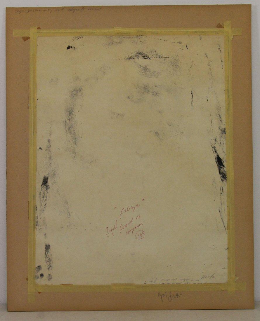 CORONEL, Rafael. Ink on Paper. Figure, 1958. - 5