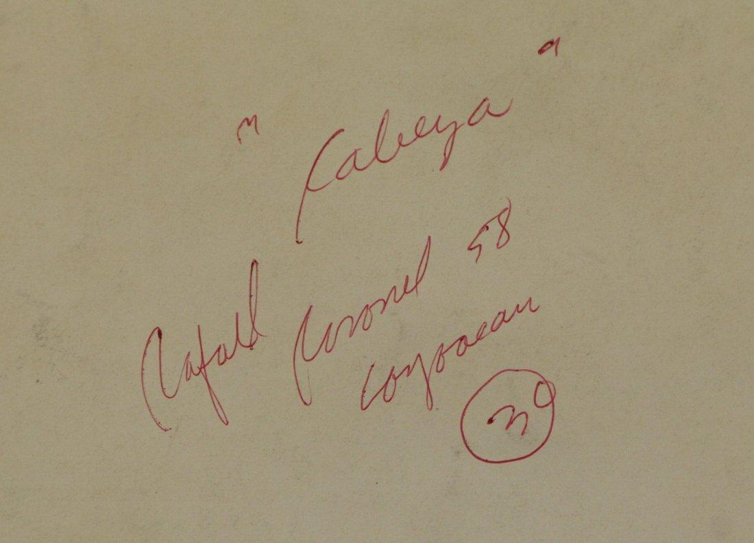 CORONEL, Rafael. Ink on Paper. Figure, 1958. - 6