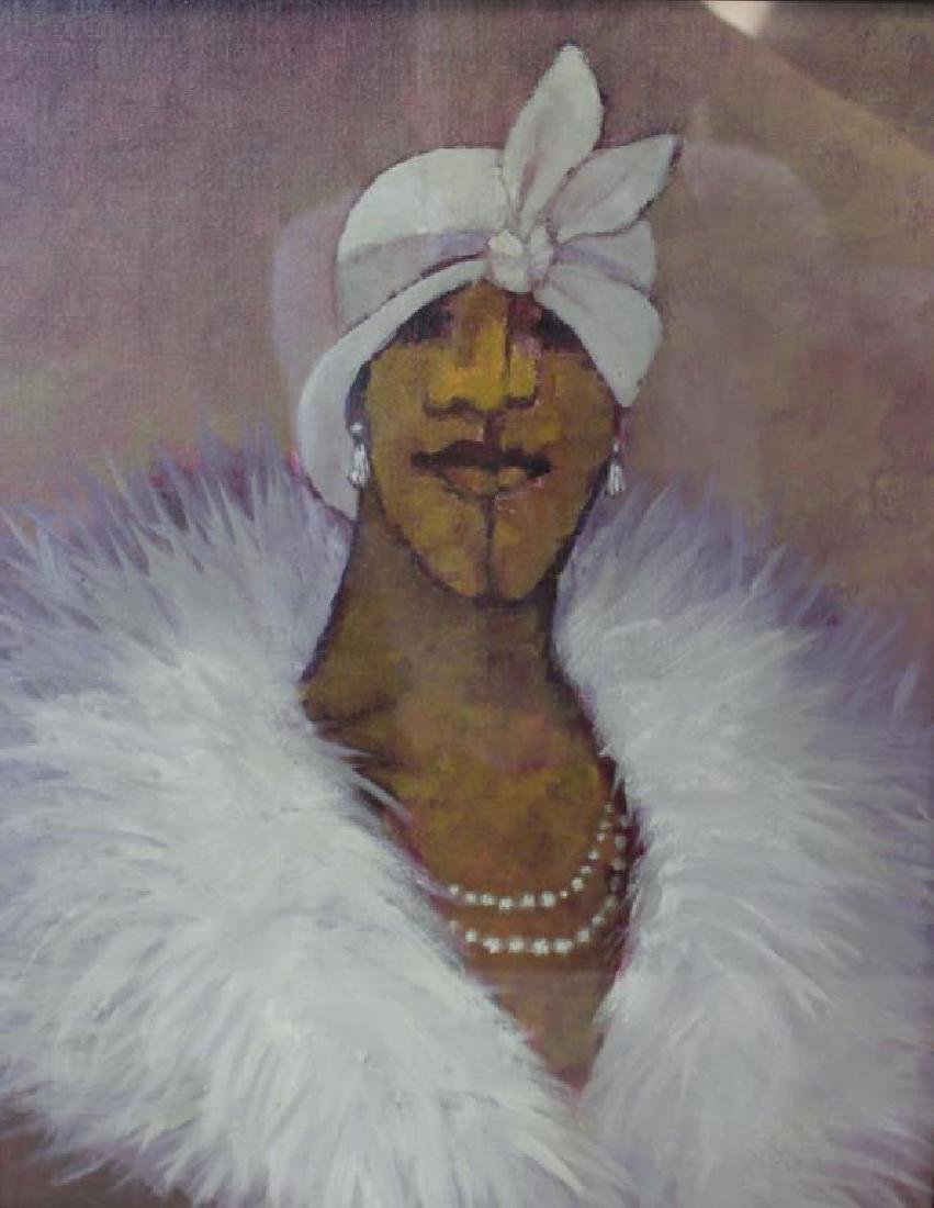 BOOKER, Stephen H. Oil on Board. 3 Portraits. - 2