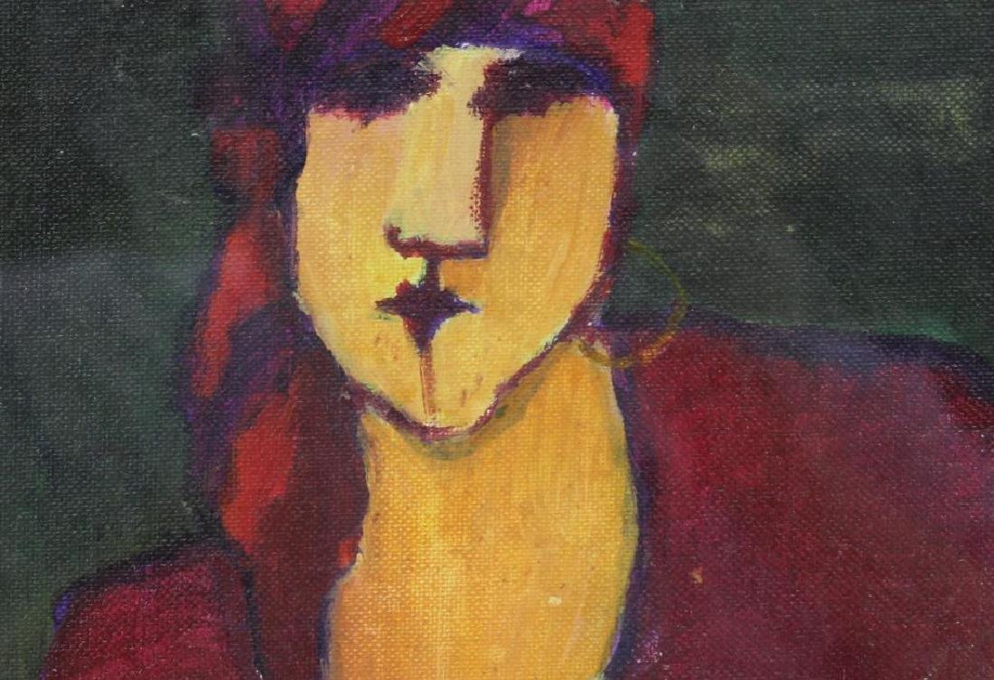 BOOKER, Stephen H. Oil on Board. 3 Portraits. - 3