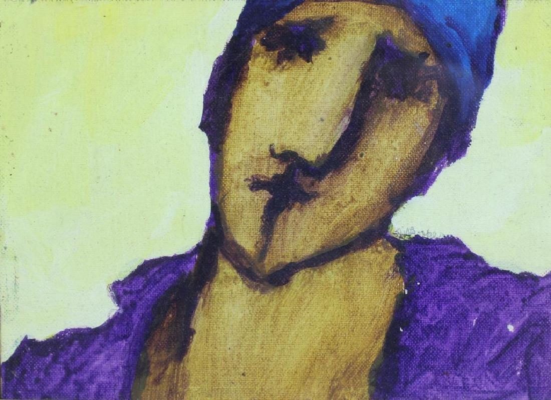 BOOKER, Stephen H. Oil on Board. 3 Portraits. - 4