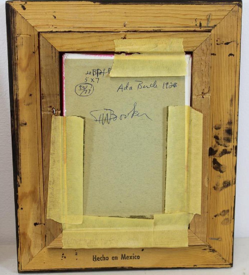 BOOKER, Stephen H. Oil on Board. 3 Portraits. - 11