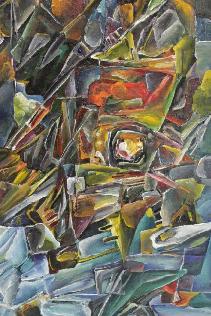"LEONOV, Aleksei. Oil on Canvas. ""Evening Flight"" - 4"