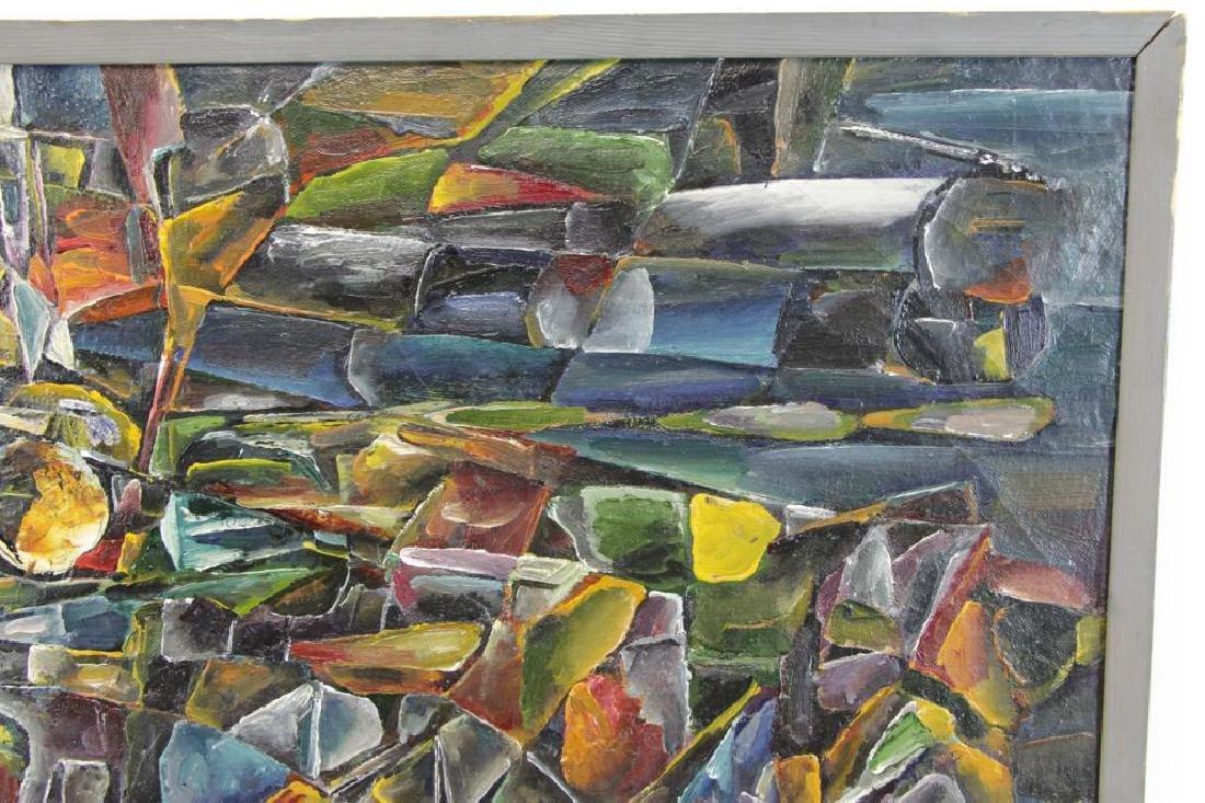"LEONOV, Aleksei. Oil on Canvas. ""Evening Flight"" - 6"