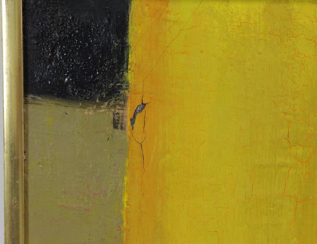 """CATHELIN, Bernard. Oil on Canvas """"Marche - 6"""