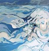 GODARD Gabriel Oil on Canvas Force 1969