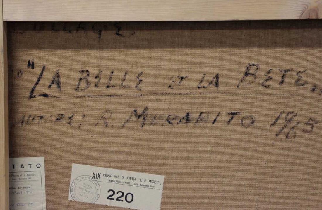 """MURABITO, Rosario. """"La Belle et La Bete"""" 1965. - 7"""