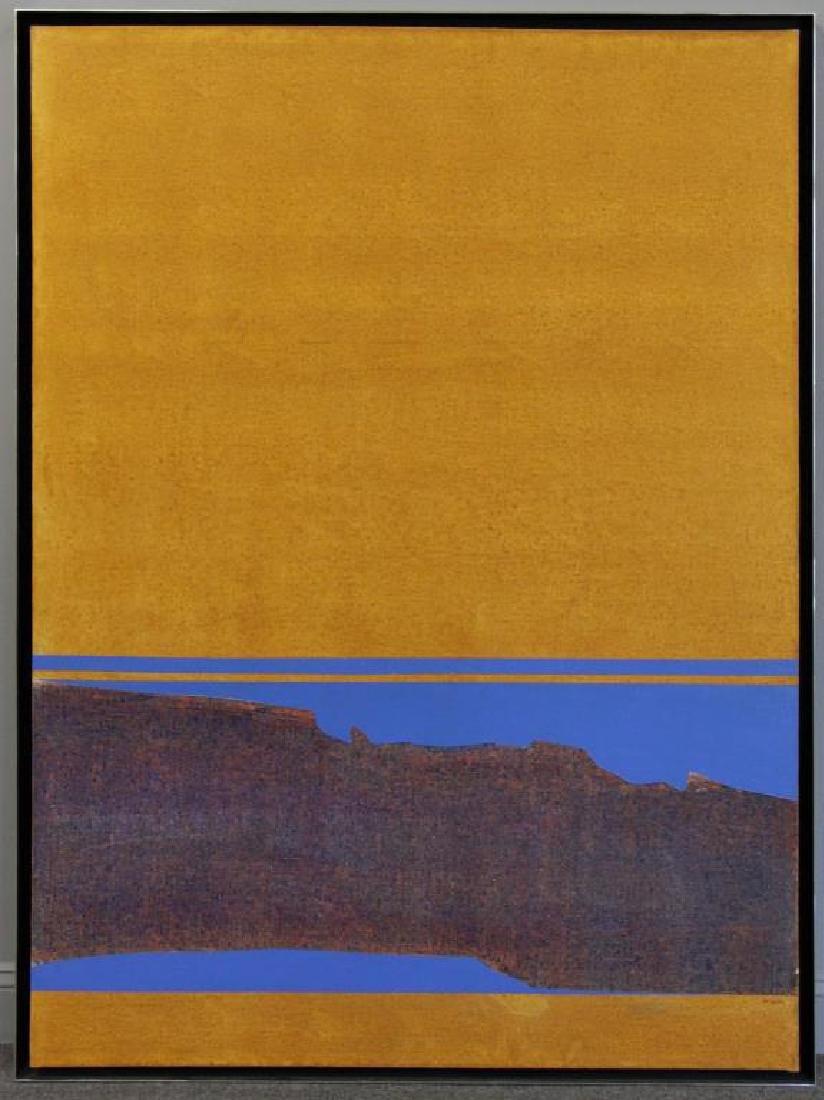 "TROTTER, Joe. Acrylic on Canvas. ""Tulsa."" - 2"