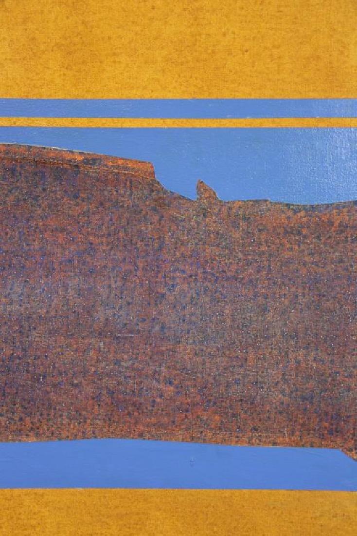 "TROTTER, Joe. Acrylic on Canvas. ""Tulsa."" - 3"