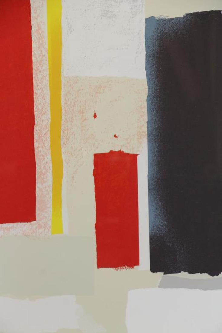 VICENTE, Esteban. Screenprint in Colors. - 3