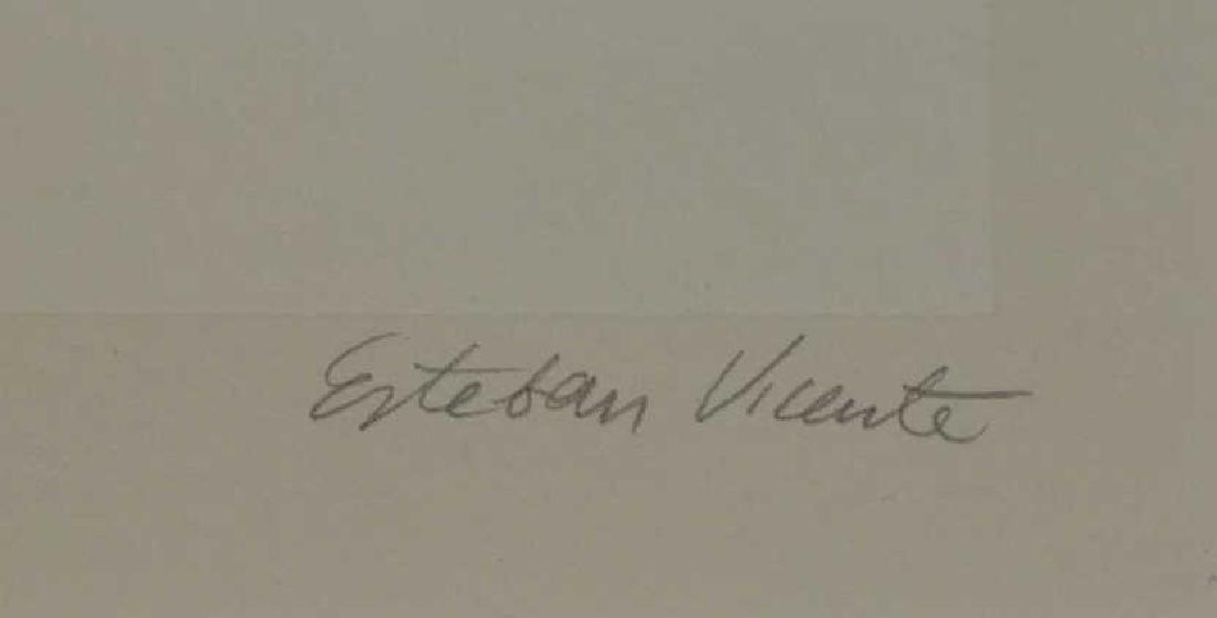 VICENTE, Esteban. Screenprint in Colors. - 4