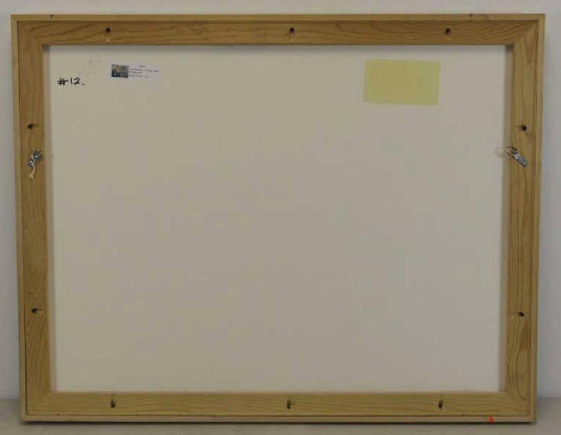"""MCCALLUM, Corrie. Acrylic on Paper. """"Rondelay"""". - 5"""