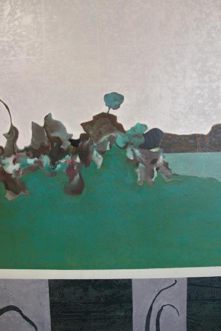 "LABARTHE, Philippe. Oil on Canvas. ""Hatless - 3"
