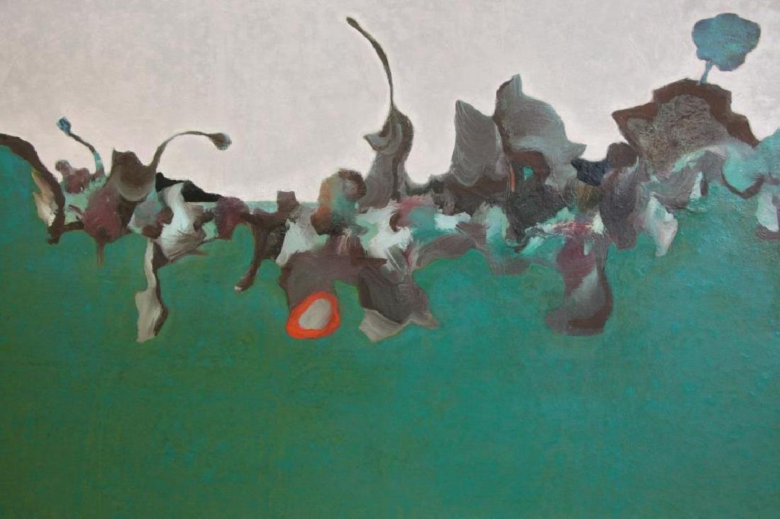 "LABARTHE, Philippe. Oil on Canvas. ""Hatless - 4"