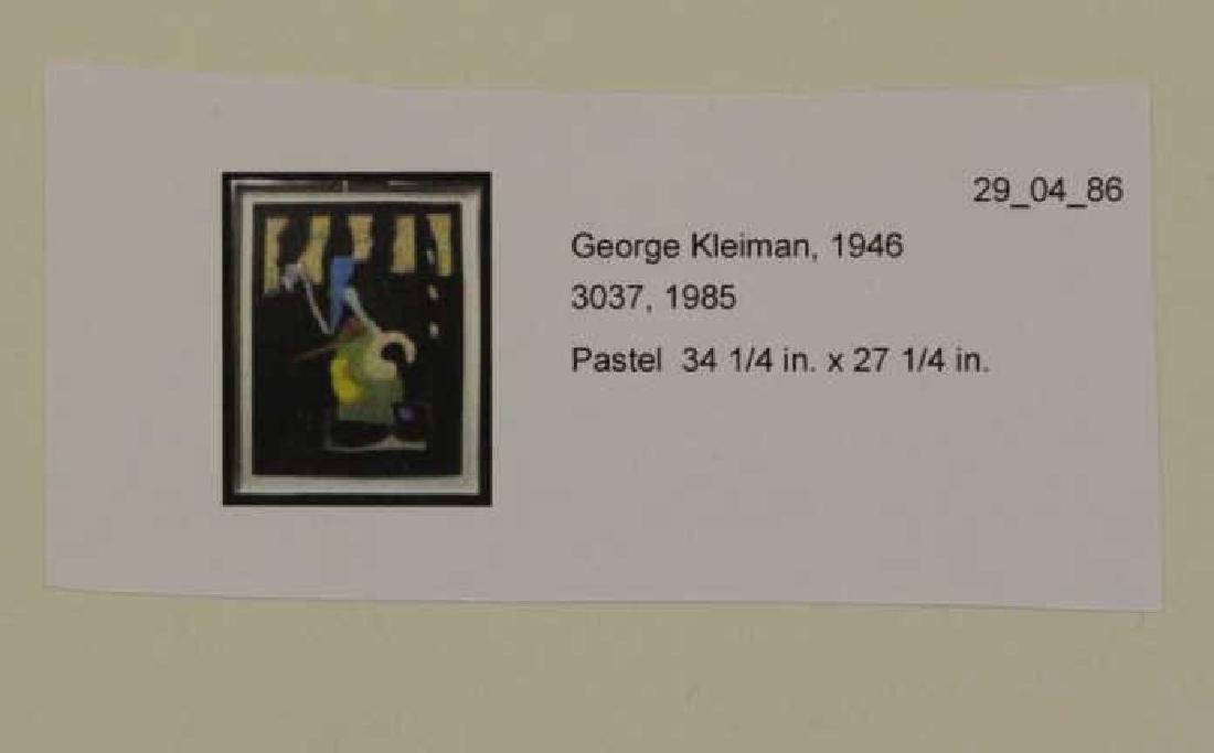 KLEIMAN, George. Pastel on Black Paper. Untitled - 7