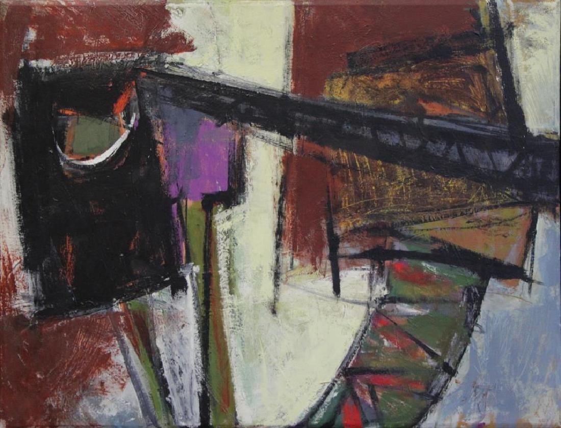 """SEELBACH, Anne. Oil on Canvas. """"Mechanical Animal"""""""