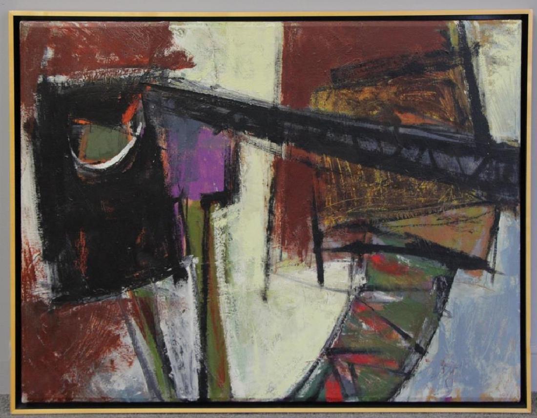 """SEELBACH, Anne. Oil on Canvas. """"Mechanical Animal"""" - 2"""