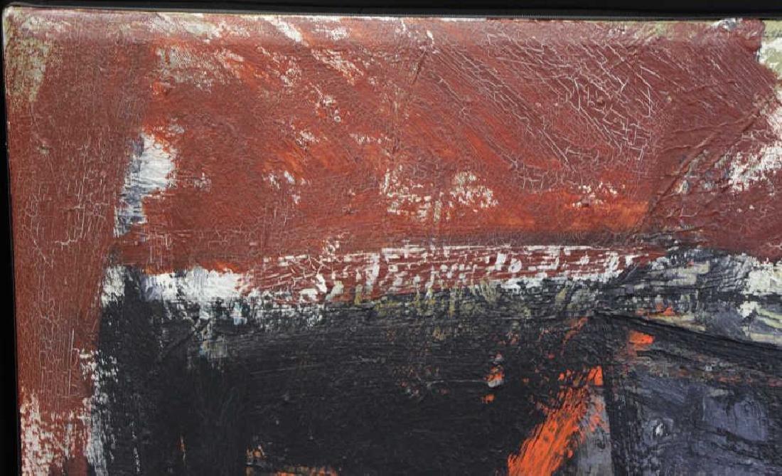 """SEELBACH, Anne. Oil on Canvas. """"Mechanical Animal"""" - 3"""