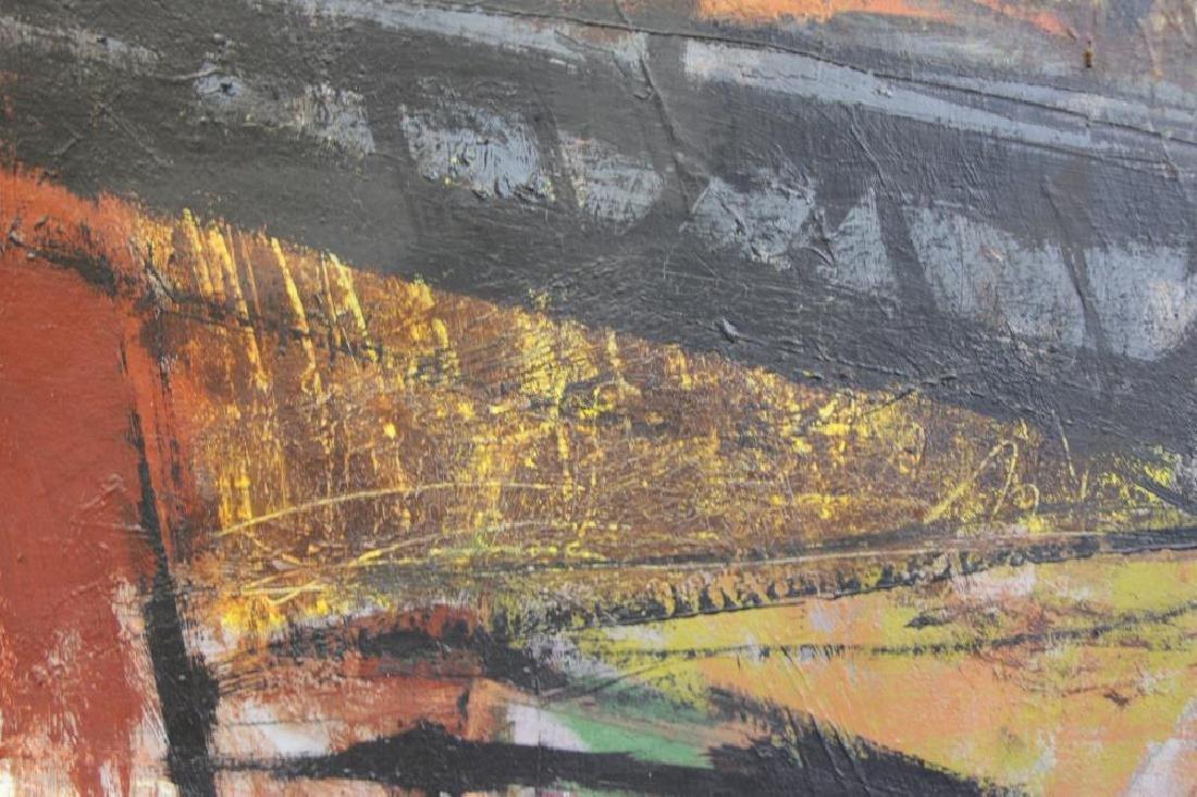 """SEELBACH, Anne. Oil on Canvas. """"Mechanical Animal"""" - 4"""