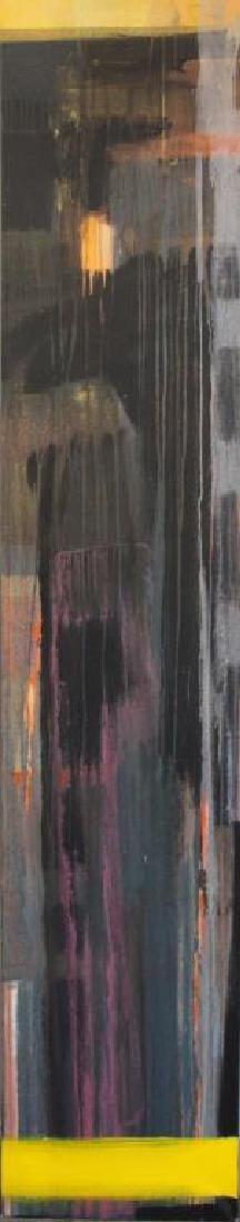 """AMUNDARAIN, Susana. Acrylic on Canvas. """"Tep with"""