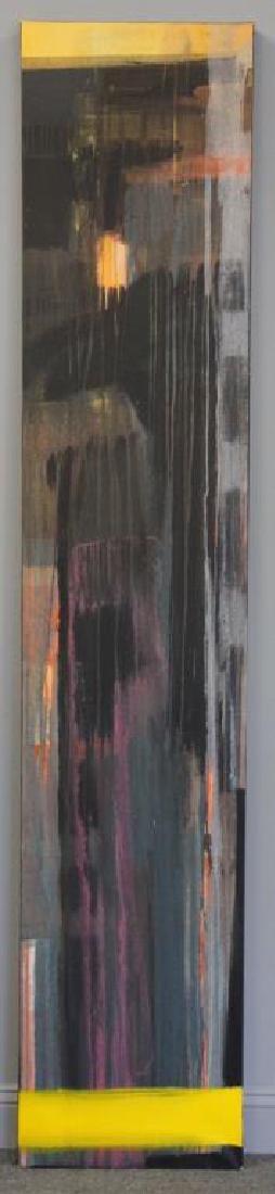 """AMUNDARAIN, Susana. Acrylic on Canvas. """"Tep with - 2"""