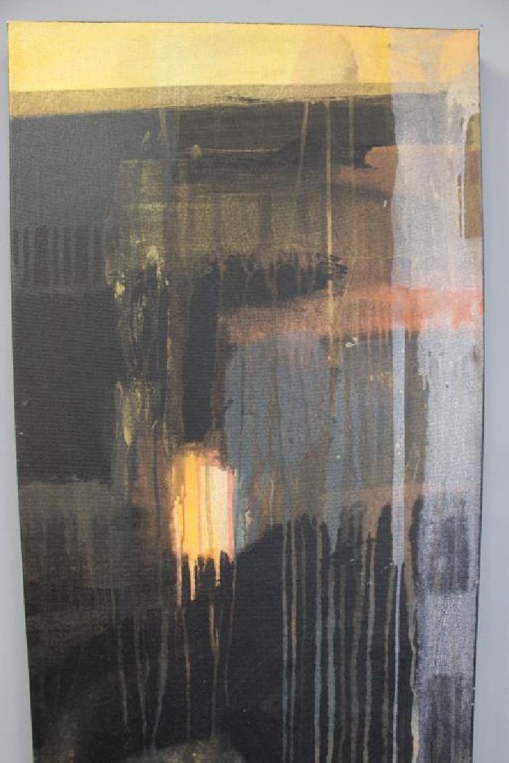 """AMUNDARAIN, Susana. Acrylic on Canvas. """"Tep with - 3"""
