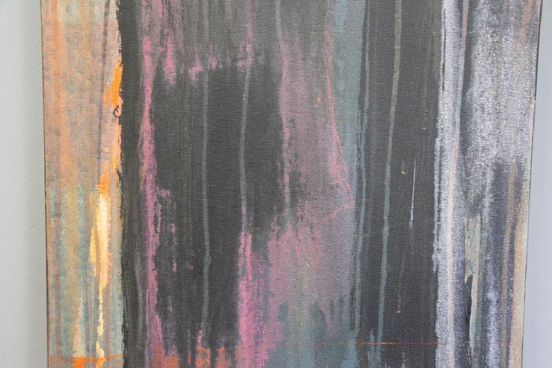 """AMUNDARAIN, Susana. Acrylic on Canvas. """"Tep with - 4"""