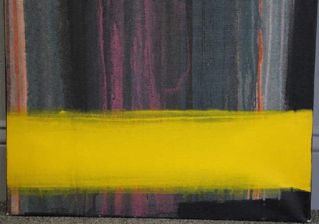 """AMUNDARAIN, Susana. Acrylic on Canvas. """"Tep with - 5"""