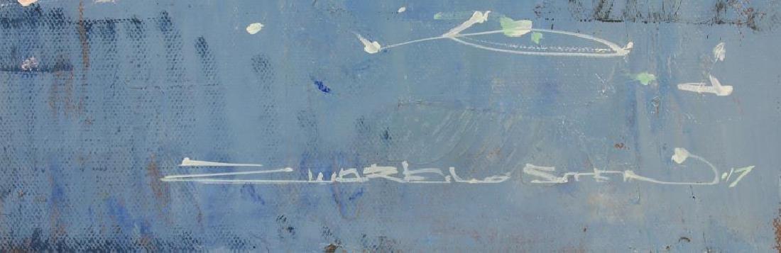"""ZWARENSTEIN, Alex. Oil on Canvas. """"Breaking Light"""" - 3"""
